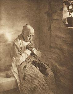 Vesper Bells. Eickenmeyer, Roudolph, b.1862 - 1932 Camera Notes Vol. 1 No. 3, 1898