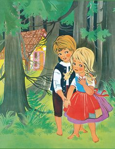 Illustrator, Hansel Y Gretel, Candy House, Fairytale Art, Hand Puppets, Illustrations And Posters, Retro, Photo Art, Fairy Tales
