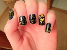 Batman Nails-it's CRAZY how people can do this