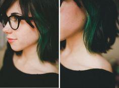 Schminkey — So I have medium length hair with side bangs that...