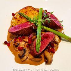 Edels Mat & Vin: Indrefilet av rein med hasselbackpoteter, grønnsak... Cabernet Sauvignon, Steak, Food, Meal, Essen, Steaks