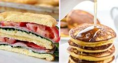 These Sausage Egg and Cheese Bites are the perfect low carb, grab and go, Keto f. Keto Approved Foods, Grapefruit Diet, Keto Pancakes, Keto For Beginners, Keto Fat, Keto Meal Plan, Keto Snacks, Diet Recipes, Meal Planning