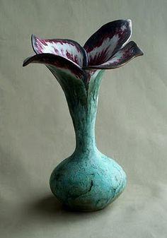 Ceramics - flower vase