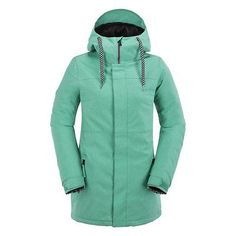 Volcom act #insulated #womens snowboard jacket #glacier blue 2016,  View more on the LINK: 	http://www.zeppy.io/product/gb/2/351592682594/