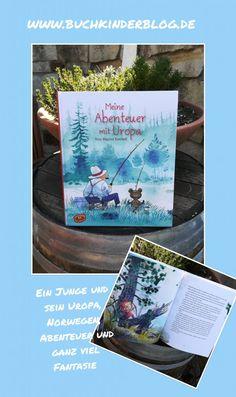 """""""Meine Abenteuer mit Uropa"""" – Tone Mygind Rostboll – Buchkinderblog Tone, Books, Art, School Kids, Fiction, Norway, Childhood, Pictures, Art Background"""