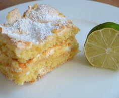 Rezept Zitronen-Baiser-Kuchen (Lemon Meringue Cake) von Leodeli - Rezept der Kategorie Backen süß
