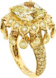 Boucheron, Lauren Adriana, and a Sunny Yellow Diamond Side of Harry Winston