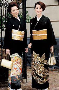 黒留袖は既婚女性が慶事に着る第一礼服♪華やかな「松竹梅」や「鶴・亀」の祝い柄で気品ある服装♡1.5次会、二次会の親族の格好まとめ♪