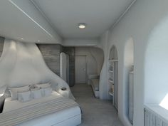 Jacuzzi Outdoor, Hotel Architecture, Villa Design, Paros, Balconies, Interior Design, Ground Floor, Rooms, Verandas