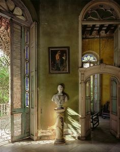 Bid now on Sala, Casa Veraniega (detail), Havana, Cuba by Andrew Moore. View a wide Variety of artworks by Andrew Moore, now available for sale on artnet Auctions. Cuban Architecture, Architecture Details, Interior Architecture, Interior And Exterior, Cuban Decor, Andrew Moore, Ivy House, Interior Decorating, Interior Design