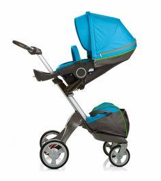 Stokke Xplory Stroller - Urban Blue