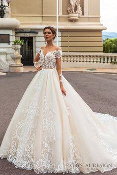 Cristal Conception Haute Couture 2017 Robes de mariée