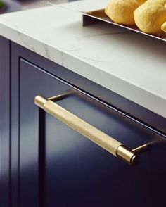 We love our gorgeous brass handles from on our kitchen display in ! And we know our clients love them too 🧡 . Kitchen Cabinet Handles, Kitchen Doors, Cabinet Hardware, Condo Kitchen, Kitchen Units, Brass Handles, Door Handles, Door Knobs, Pull Bar