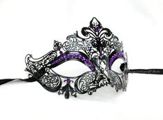 LASER CUT METAL Masquerade mask Venetian Masks