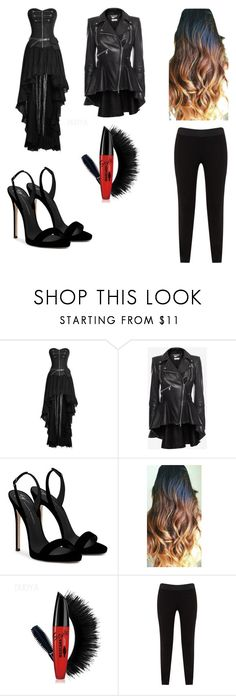 """Untitled #63"" by princesshannahbuck ❤ liked on Polyvore featuring beauty, Alexander McQueen, Giuseppe Zanotti and JunaRose"