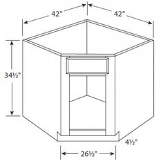 Kitchen Corner Base Cabinet Sizes | corner kitchen sink | Pinterest ...