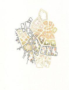 Map sketches | Emily Garfield Art