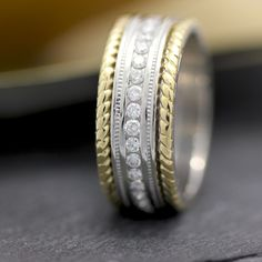 Customize Any Band By Adding Diamonds To It Weddingringsdepot Makingdreamscometrue Ringrevival