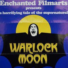 Warlock Moon - 1973 original one sheet poster drive-in grindhouse cinema