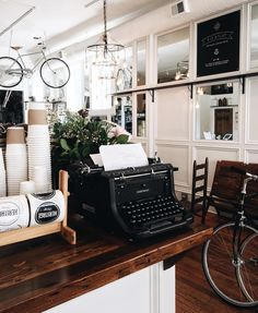 Heritage Bicycle: Coffee shop and bike store is one of the loveliest places in Chicago. enjoy a cup of coffee, or lavender latte