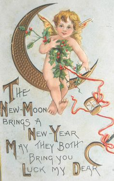 Vintage New Year Card 152 Vintage Happy New Year, Happy New Years Eve, Happy New Year Cards, Happy New Year 2019, New Year Wishes, Holiday Images, New Year Images, Christmas Images, Christmas Art