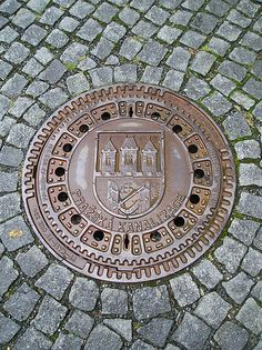 Manhole Cover ,Prague