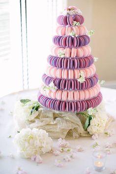Fleur de Farine Events - Bespoke Macarón Cakes