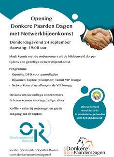 Alle ondernemers uit Midden-Drenthe zijn voor deze netwerkbijeenkomst uitgenodigd!