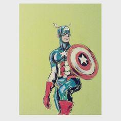Captain America #captainamerica #marvel #marvelcomics #murales #mural #artmural #painting #paint #roomdecor #decoration #wall #art #artist #love #nerd #drawing #work #workart #marvelsuperhero