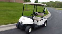 Used 2012 E-Z-Go RXV ATVs For Sale in Minnesota. 2012 E-Z-Go RXV, 2012 E-Z-Go RXV 48V A.C. Drive Electric Golf Cart. White Body Beige Seats Beige Top Sand Bottle  8 inch Wheels 18x8.5-8 Tires 48v Portable Charger