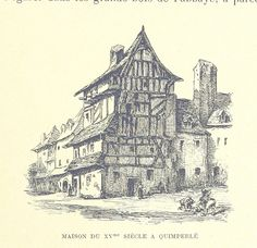 Image taken from page 511 of 'Zig-Zags en Bretagne, etc. [Illustrated.]' | by The British Library