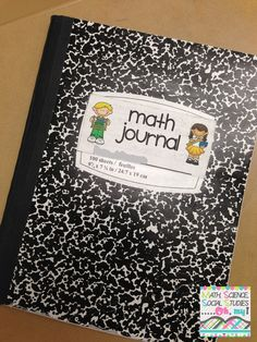 Math Notebooking - this would be a wonderful tool for students struggling with math! #homeschool #math