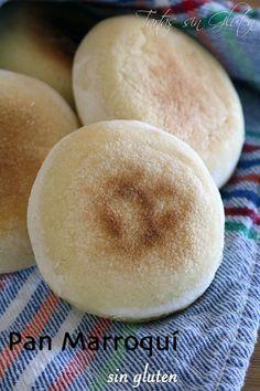 Hoy os traigo el típico pan marroquí, el cual os sirve para acompañar las comidas o para rellenarlos y prepararos deliciosos bocadillos. Bread Bun, Pan Bread, Muffins, Good Foods To Eat, Bakery Cakes, Greens Recipe, Lactose Free, Vegan Snacks, Dinner Rolls
