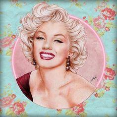 Marilyn Monroe portrait. Artist?