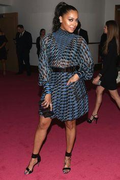 La La Anthony in Fendi at CFDA Fashion Awards