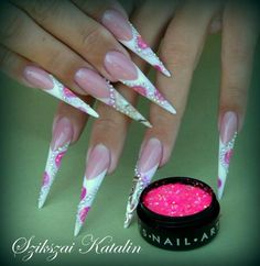 #bling #nails #nailart - Repinned by www.naildesignshop.nl
