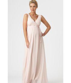 Shantung Fabric Maternity and Nursing Formal Dress SI0029 ...