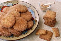 Receta de galletas de canela y anís.