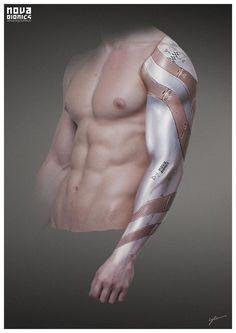 ArtStation - NOVA Bionics - Arm, Georg Löschner