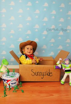 Toy Story First birthday , woody, buzz, First birthday ideas, toy story theme party. Little cowboy Woody Birthday Parties, Woody Party, Toy Story Birthday, Birthday Fun, Birthday Ideas, Cowboy Birthday, Birthday Board, Toy Story Baby, Toy Story Theme