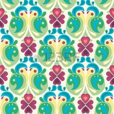 geomatrical floral pattern - Google Search