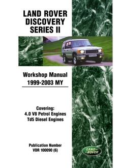 Gregorys landrover discovery series2 tdi5 diesel workshop repair land rover discovery series 2 workshop manual 1999 2003 my land rover workshop manuals fandeluxe Gallery
