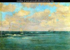 Bathing Posts - James Abbott McNeill Whistler - www.jamesabbottmcneillwhistler.org