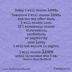 'Choose Love' 21-Day Challenge: Part 2