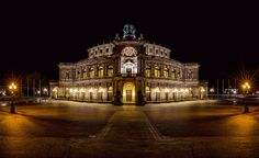 Dresden Semperoper Panorama