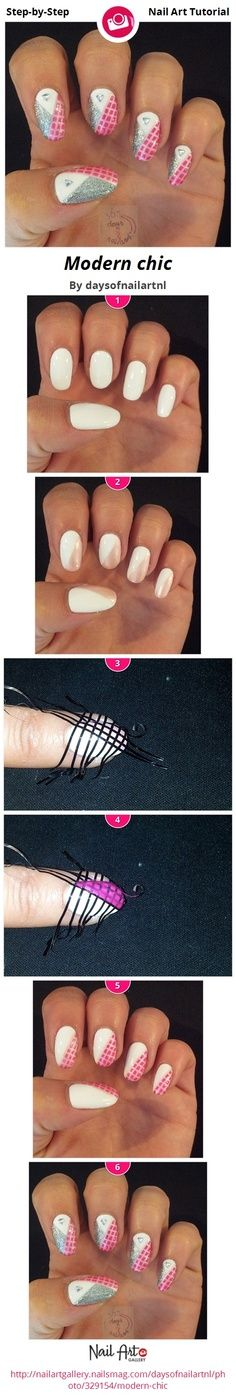 Stylish Nails Hold tempo with the newest stunning nail tutorials by comply with our submit. At the moment, we decide up some helpful nail tutorials so that you can . Fancy Nails, Diy Nails, Nails Rose, Nails Decoradas, Chic Nail Art, The Art Of Nails, Nail Tape, Modern Nails, Geometric Nail