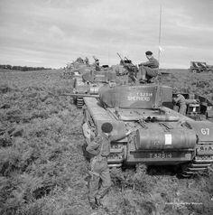 Churchill tank overloon