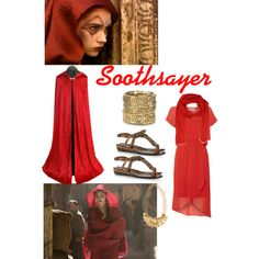 Soothsayer Fires of Pompeii by clararycbar on Polyvore featuring Label Lab, Lanvin, ABS by Allen Schwartz, H&M and Weekend Max Mara