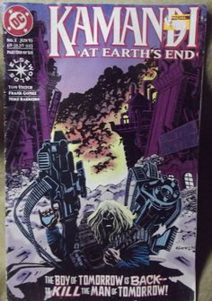 #Kamandi At Earth's End #ComicBook #DC #1 June 1993 Part One Elseworlds