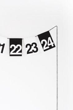 DIY: minimal advent calendar (via Bloglovin.com )